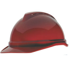 Safety-Helemt-marron